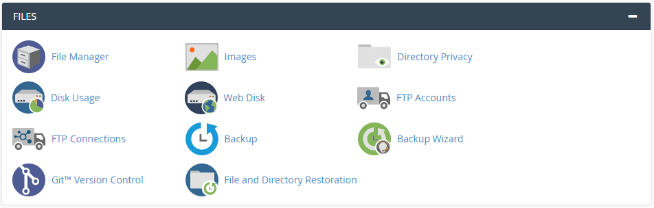 CPanel Files Manager