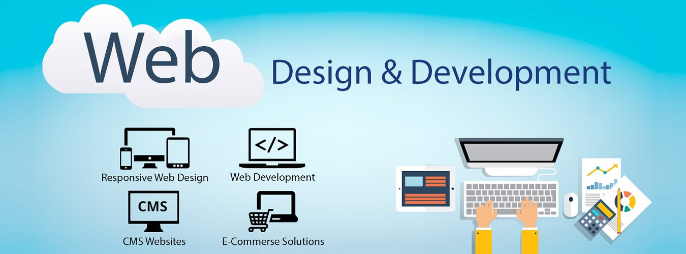 What is the difference between web development & web design